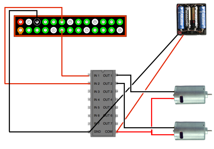 Scratch controlling the gpio on a raspberrypi cymplecy for Raspberry pi motor speed control